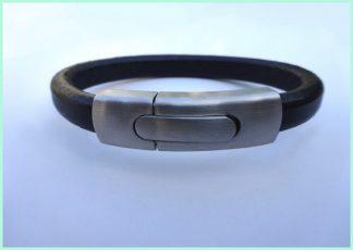 armband zwart atelier texel