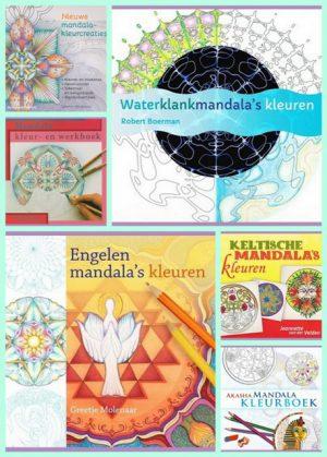 kleurboeken mega veel mandala's