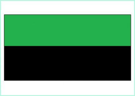 groen zwart Texel in het hart